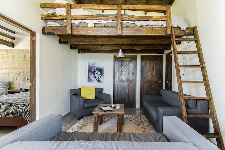 Loft Beds In Common Area w/Adjacent Bath - Jarabacoa