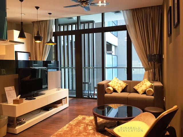 Modern & Luxury Suite @ Riverson SOHO, City Centre - Kota Kinabalu - Ortak mülk
