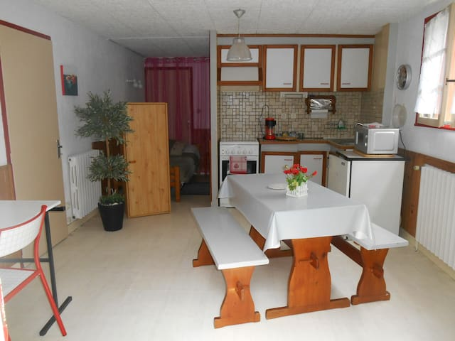 Studio in center, close train st. - Vannes - Hus