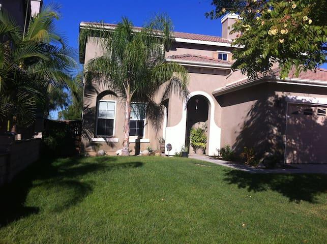 Private Room Near UC Riverside - Moreno Valley - Huis