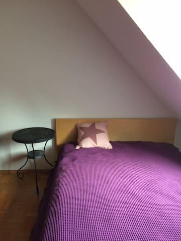 Schönes Gästezimmer in Maisonette-Wohnung - Schwäbisch Hall - Apartemen