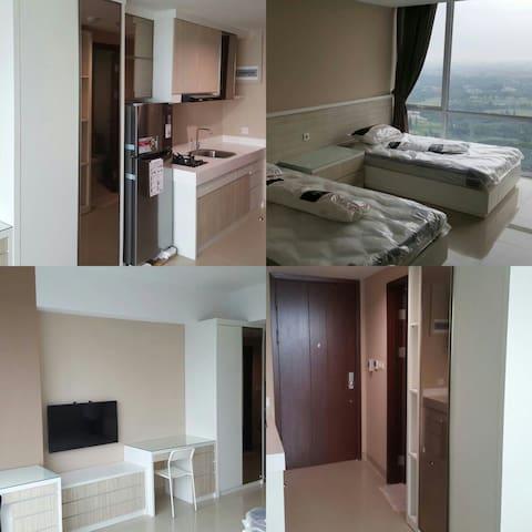For rent apartment golf view - lippo karawaci tangerang - Daire