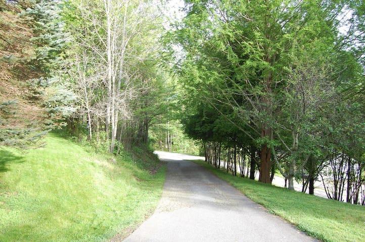 Charming, Peaceful Wooded Apartment - Waynesville - Departamento