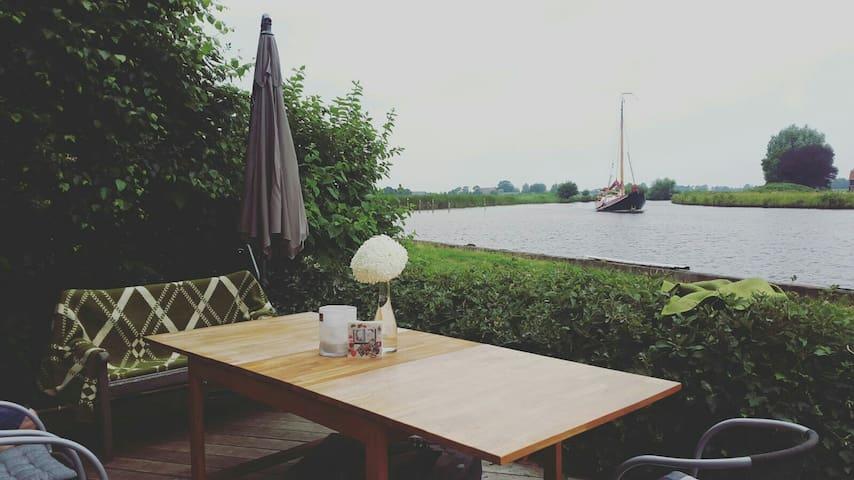 Top 4 pers huisje water & natuur - langelille - Mökki