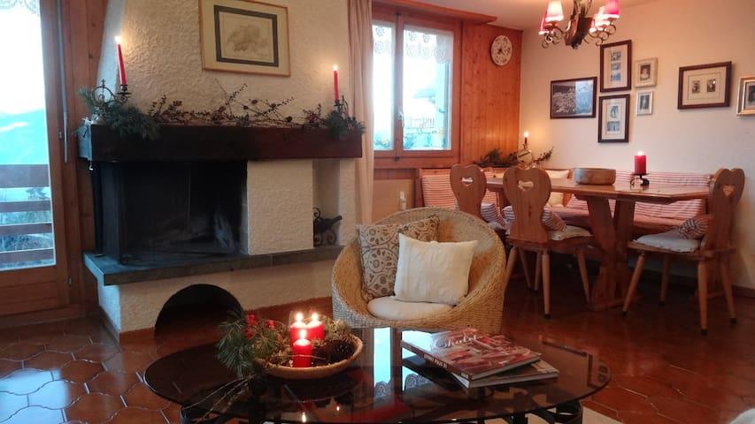 Penthouse apartment in Ski Resort - Ayent - Leilighet