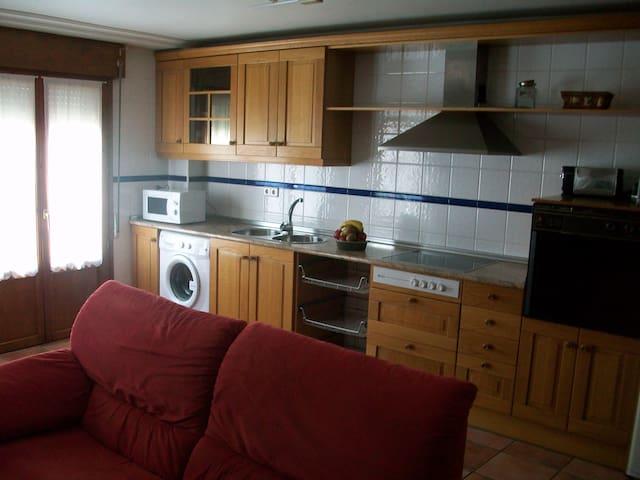 Apartamento céntrico y cómodo - San Adrián - Departamento