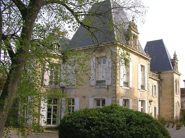 Château de St Michel de Lanès - Saint-Michel-de-Lanès - Şato