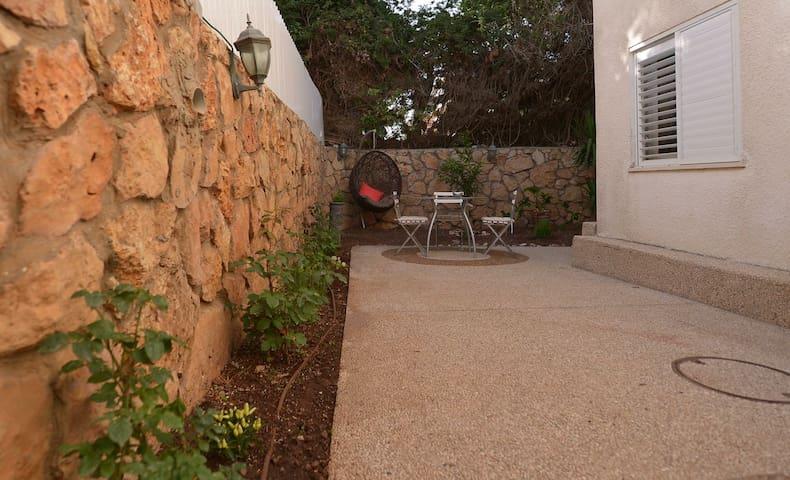 Lovely & clean, 2bd Apt, W/Garden   - Haifa