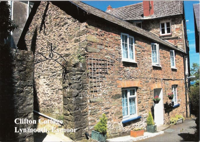 Clifton Cottage - Lynmouth - Huis
