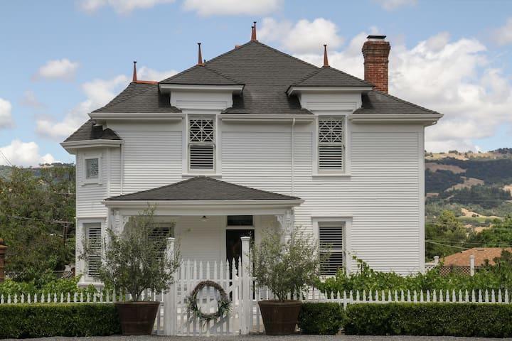 Historic Sonoma, The Bosworth 1904 - Geyserville