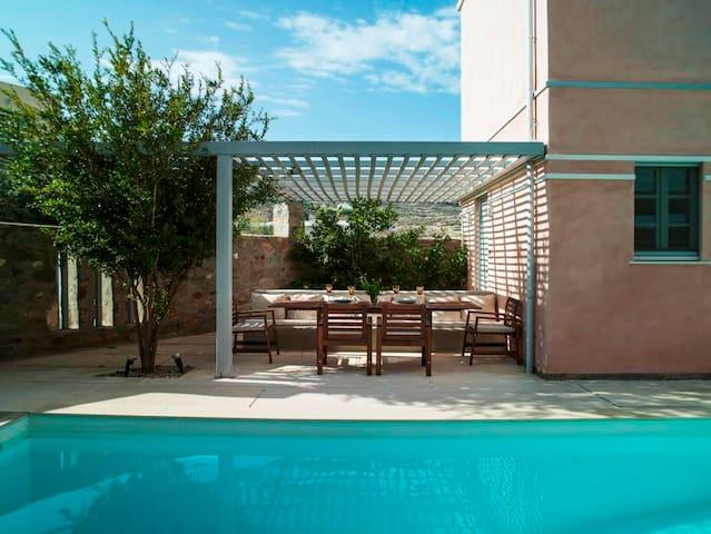 Modern Luxury house with sea view - Poseidonia - Ev