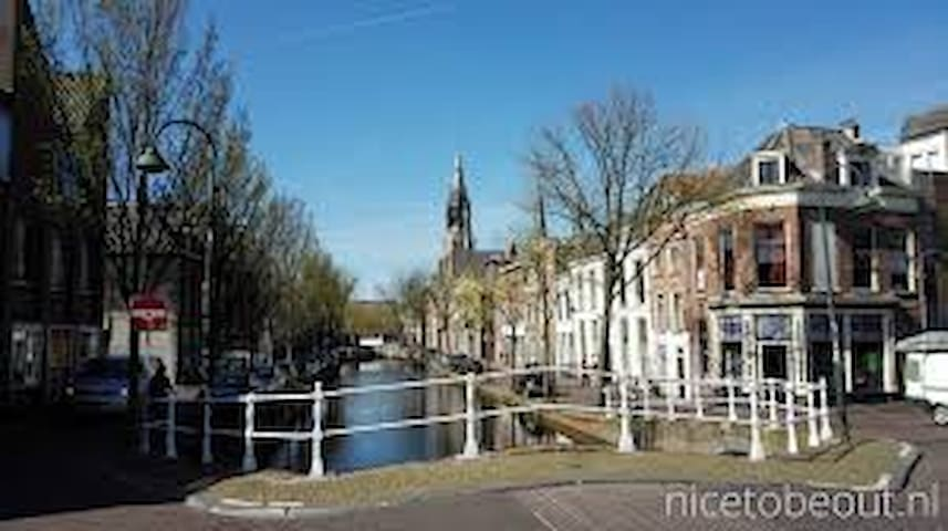 Very cosy apartment in city centre Delft - Delft - Leilighet