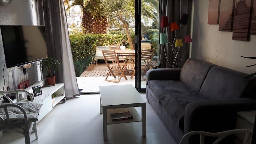 Bel appartement sympa 6pers 35m2 proche mer. Wi-Fi - La Grande-Motte
