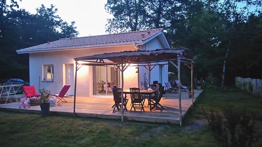 Maison Zo&Li - Proche océan et Forêt - Tranquilité - Grayan-et-l'Hôpital - Casa