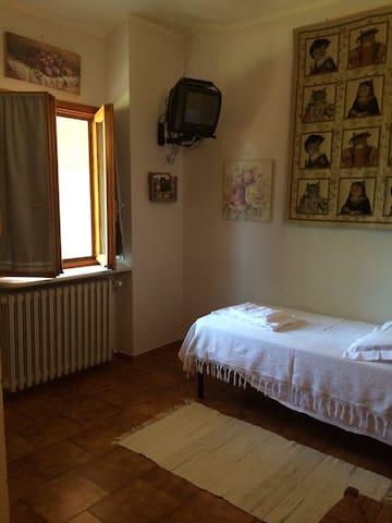 camera singola con terrazza - Castagneto po