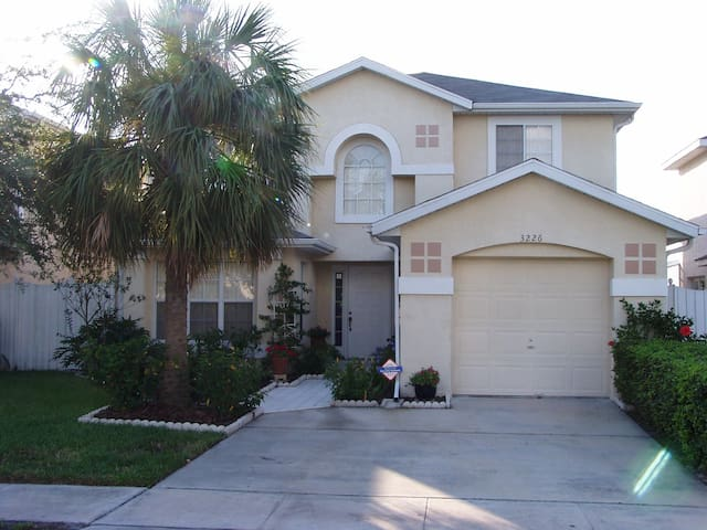 Lakeside Florida holiday home close to attractions - Kissimmee - Casa