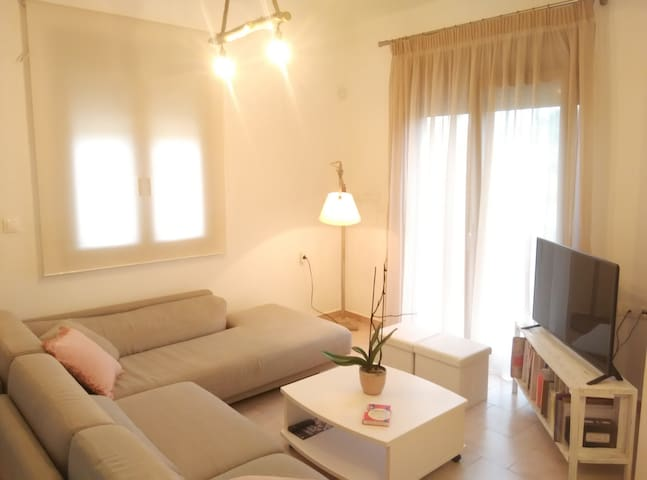 Ground floor apartment 30 meters from the sea - Platanias - 公寓