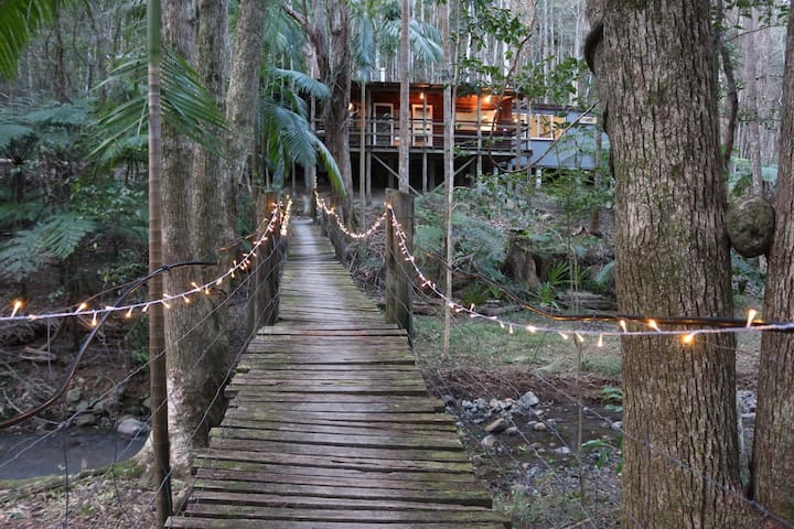 Secluded Magical Rainforest Retreat - Main Arm - Cabaña