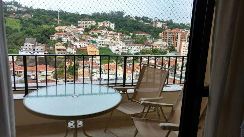 Apartamento centro vista formidável - Serra Negra - Leilighet