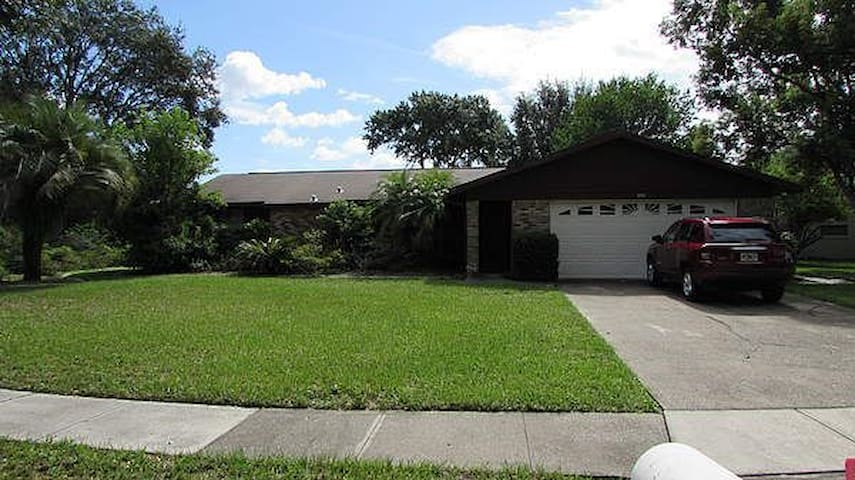A  Naturist haven in East Orlando - Orlando - Huis