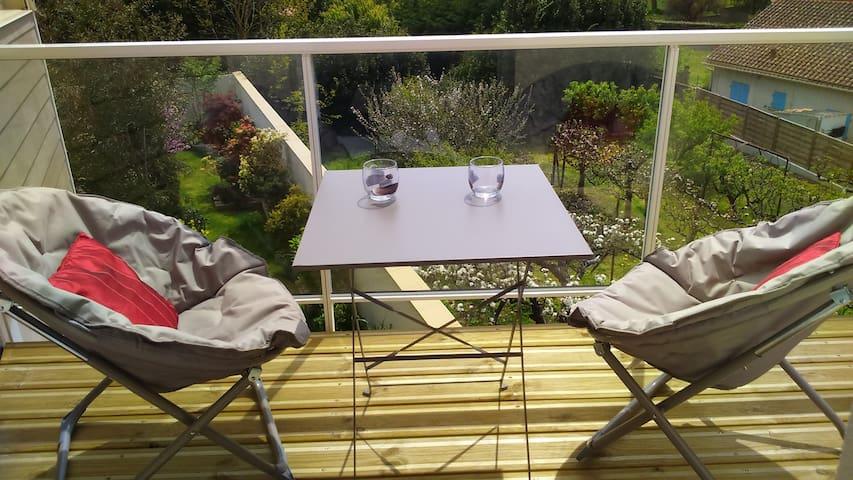 Proche mer, nature, 4*, balcon, WIFI, parking - Talmont-Saint-Hilaire - Daire