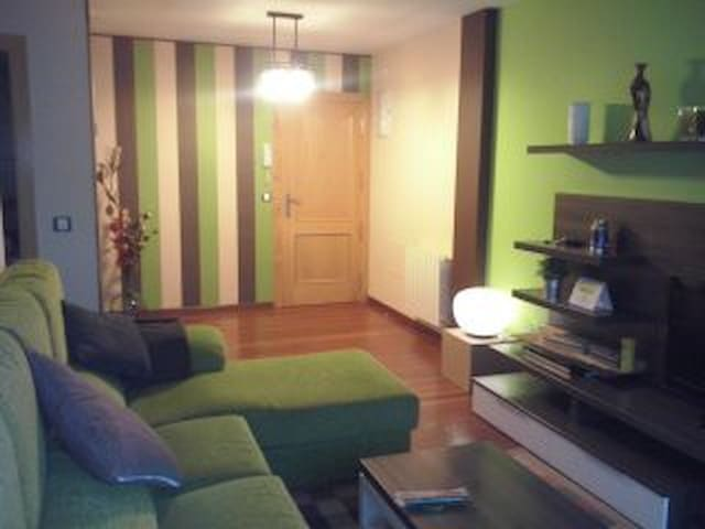 BAJO CON JARDIN PRIVADO Y BARBACOA - Caborredondo - Wohnung
