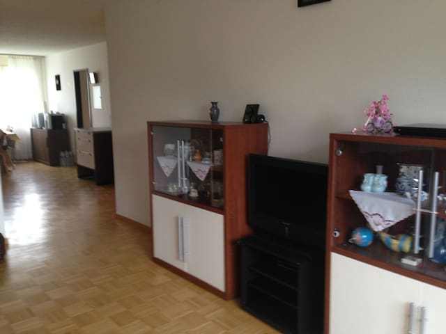 A simple but spacious Apartment - Suhr - Appartement