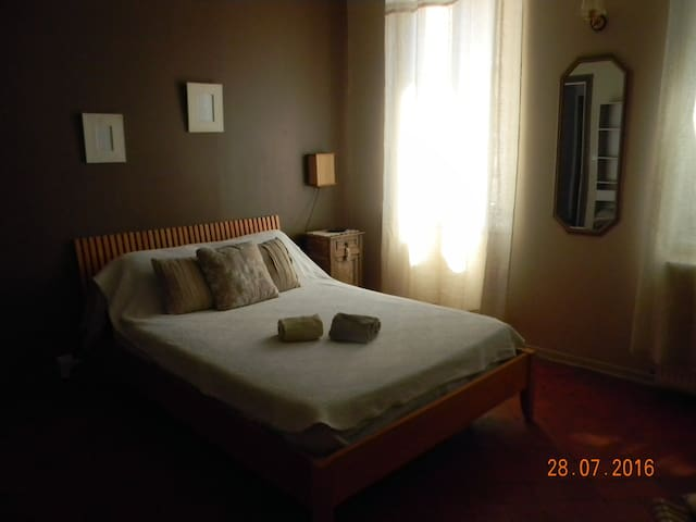 Charming bedroom in an 19th century house - Avignon - Huis