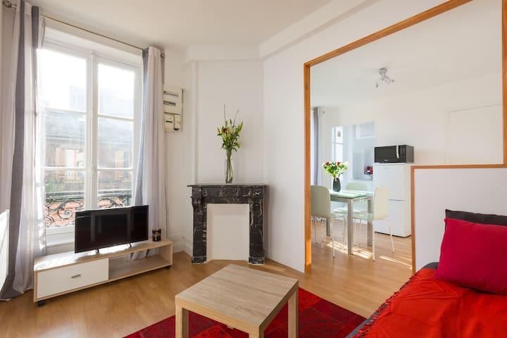 Bel appartement ensoleillé à 10 min de Paris - Pantin