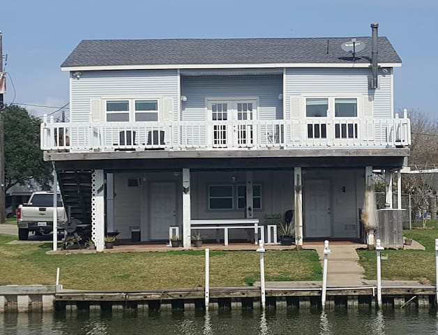Saltwater Breeze Hide-A-Way on the Gulf - Freeport - Huis