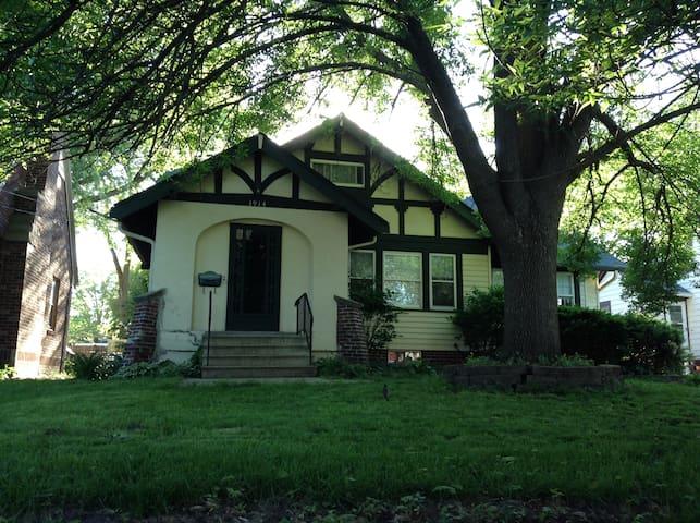 Classic Des Moines neighborhood - Des Moines - Huis