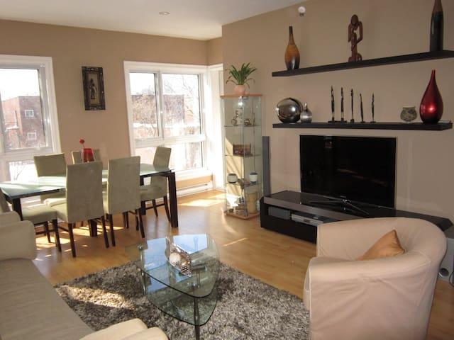 Amazing 2-bdr apt just for you ! - Montreal - Apto. en complejo residencial
