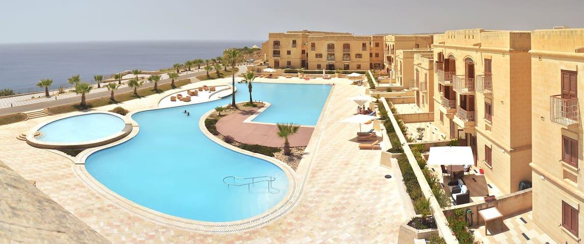 Gozo new apartment+pool+free wifi - Għajnsielem - Lakás