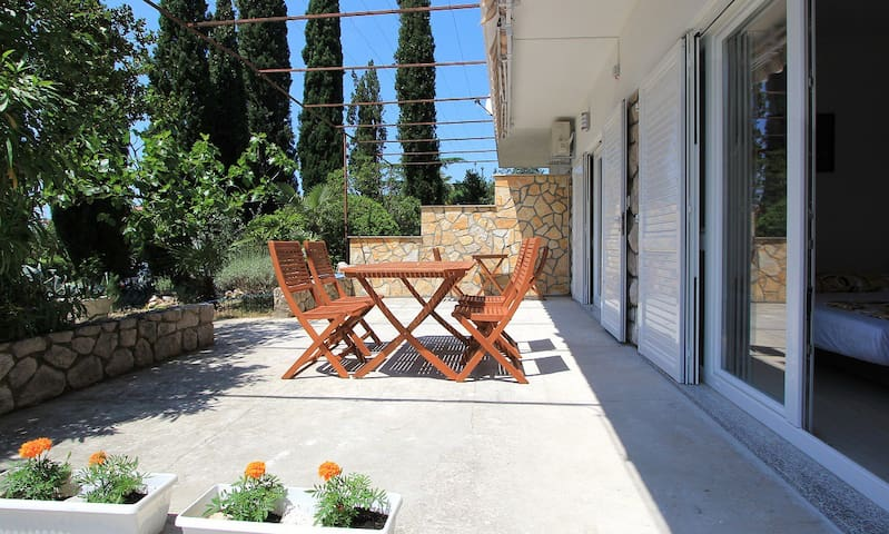 2 in 1 app!  200m from sandy beach and restaurants - Crikvenica - Appartement