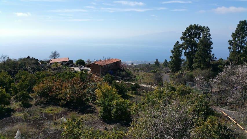 Casa Campo con Vistas Mar y Volcán - Guía de Isora - Dom