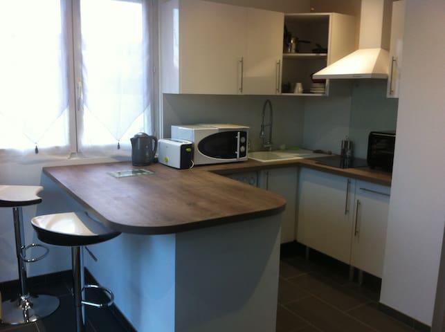 Joli studio avec coin terrasse - Tarbes - Leilighet