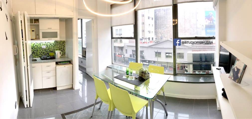 Luminous APARTMENT in heart of Buenos Aires City - Buenos Aires - Appartement