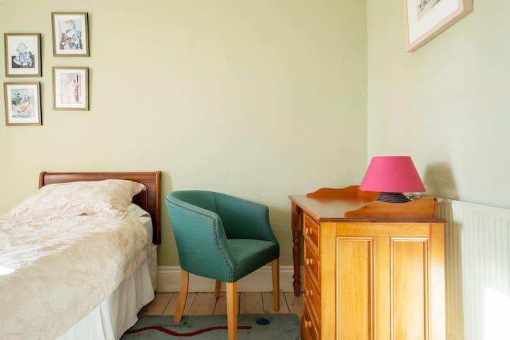 Single Georgian room with Coastal Views - Bray