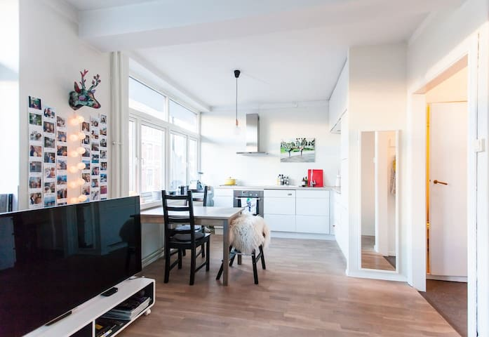 Heart of Oslo - bright, modern apt by Royal Palace - Oslo - Appartement