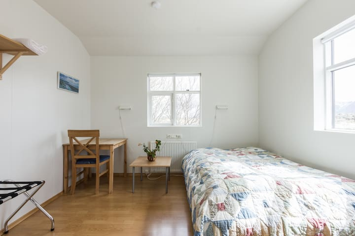 A room in a farmers cottage - Borgarnes