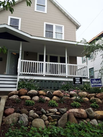 Big house close to US Bank for Super Bowl & more! - Minneapolis - Hus