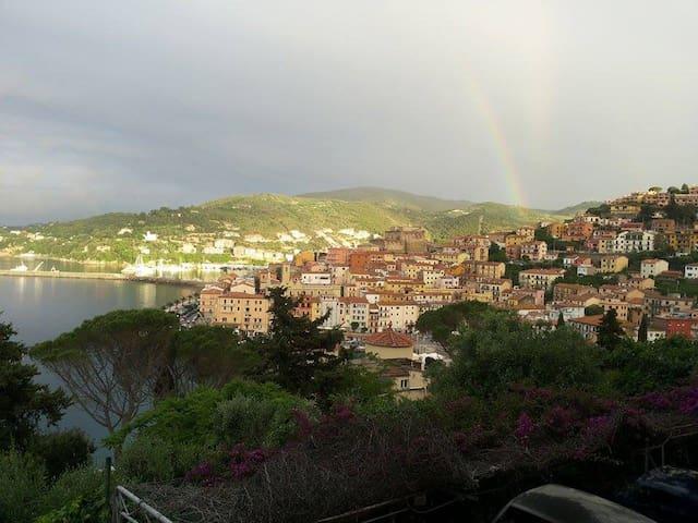 Appartamentino vista mozzafiato ampio terrazzo - Porto Santo Stefano - Apartament