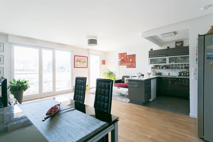Appartement 3 pièces lumineux proche de Paris - Châtenay-Malabry - Huoneisto