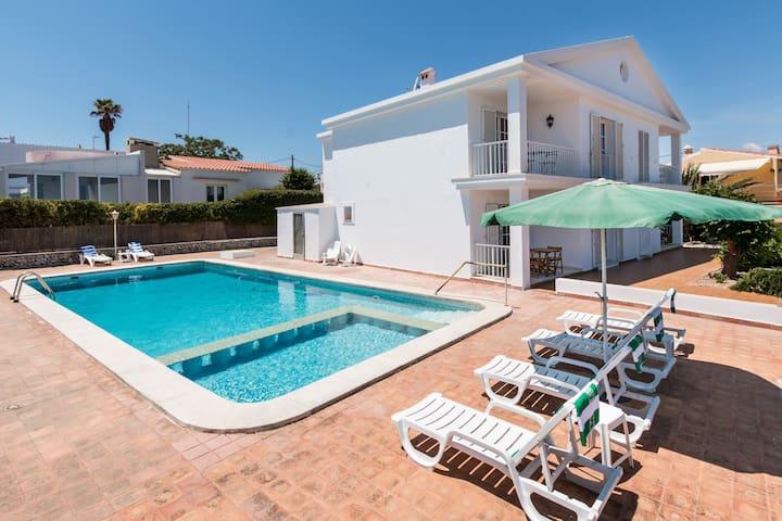 Menorca Bahia Mahon  poolside  b-a - Son Vilar - Appartement
