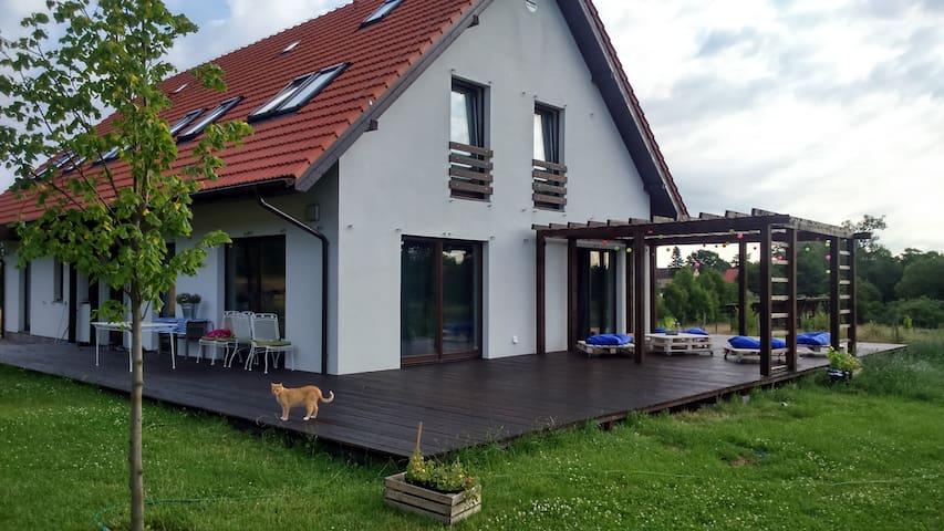 BnB near seaside, Charnowo, Ustka - Ustka - Casa