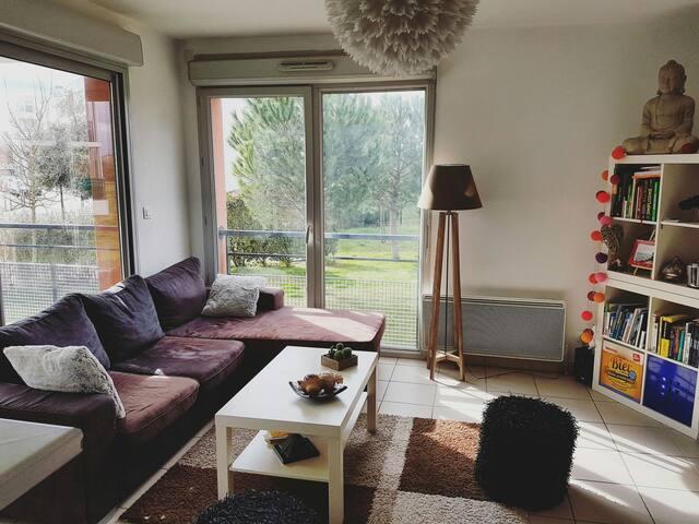 Belle chambre dans quartier calme - Toulouse - Apartamento