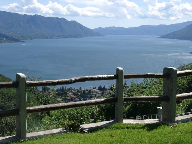 GARDENIA: Villa-Wohnungen Lago Maggiore - Maccagno con Pino e Veddasca - Departamento