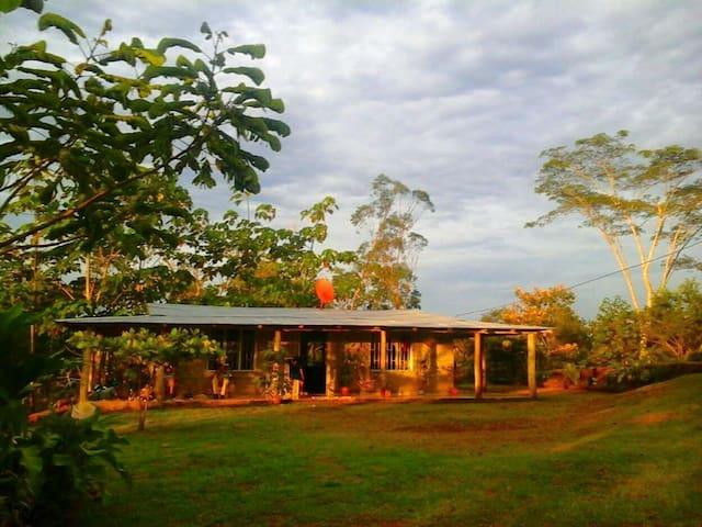 Finca Pipillo, casa rústica, paraíso natural - Río Cuarto - Alojamento ecológico