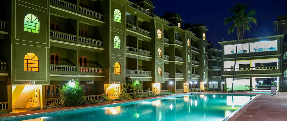1 BHK Resort Apartment Siolim - North Goa - Διαμέρισμα