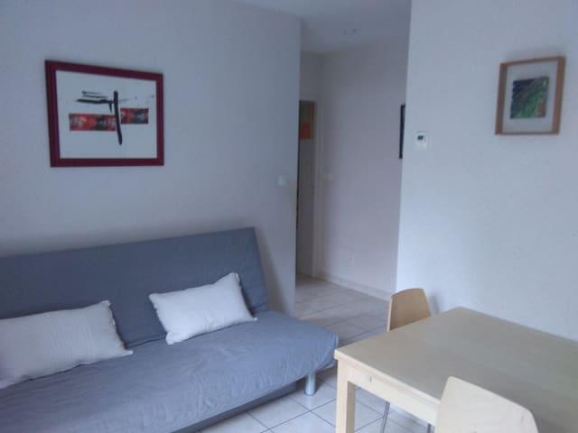 Logement rez de jardin 35 m2 2/3 p. - Brioude - Daire